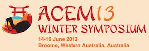 ACEM2013 Broome